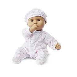Mine to Love Marina 12-Inch Soft Body Baby Hispanic Doll, LCI-4912
