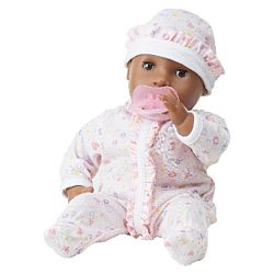 Mine to Love Gabrielle 12-Inch Soft Body Baby African American Doll, LCI-4915