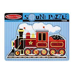 Train Sound Wood Puzzle - 9 Pieces