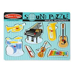 Musical Instruments Sound Wood Puzzle - 8 Pieces