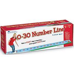 0-30 Number Line Floor Mat,  LER0935