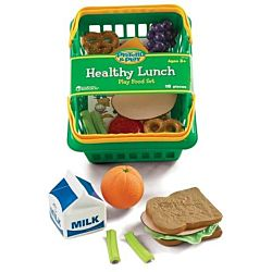 Learning Resources Pretend and Play Healthy Lunch Basket , LER9741