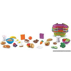 Learning Resources New Sprouts Three Meals a Day Deluxe Market Set , LER9733