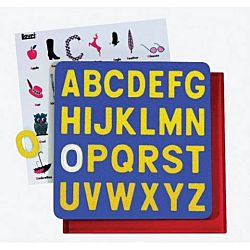 Children's A-Z Puzzles, Capitals LR-2305