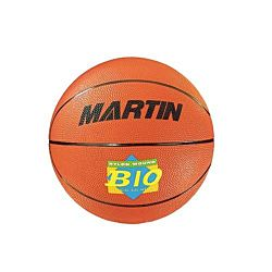 Martin Sports Orange Rubber Basketball, Official Size