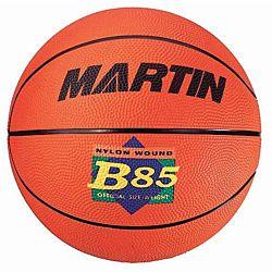 Martin Sports Orange Rubber Basketball, Junior Size