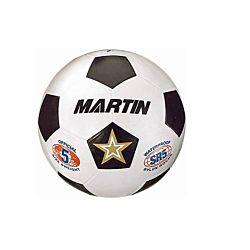 MARTIN SPORTS SOCCER BALL WHITE SIZE 5 RUBBER