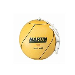Martin Sports Tetherball Rubber Nylon,yellow