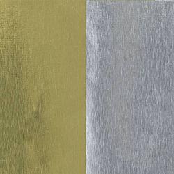 42-Gauge Gold & Silver  Foil Sheets - 4 1/2