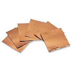 40-Gauge Copper Foil Sheets - 5