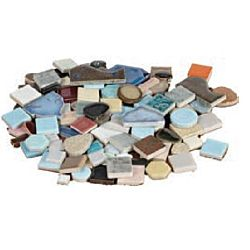 Assorted Shapes Ceramic Tiles - 1lb.