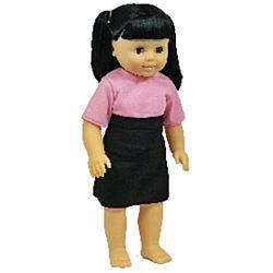 Asian Girl Dolls  by Get Ready Kids, MTB636