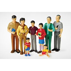 Pretend Play Family/ Asian MTC-137