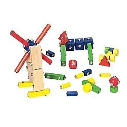 Children's Snap N Play Blocks- 65 pc Set MTC-256