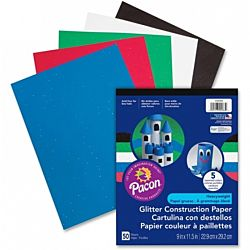 Pacon Glitter Construction Paper Pad