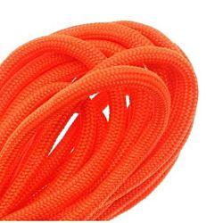 Paracord 550 / Nylon Parachute Cord 4mm - Neon Orange (16 Feet/4.8 Meters)