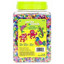 Perler Beads 22,000 Count Bead Jar Multi-Mix Colors  17000
