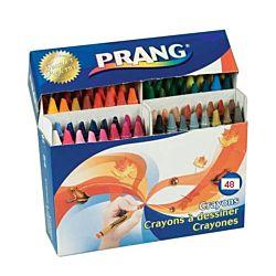 Prang Crayons Made with Soy, 48 Colors/Box