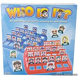 Pressman, Who Is It Game