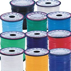Pepperell Rexlace Plastic Craft 100 Yard Spool, 3/32-Inch Wide