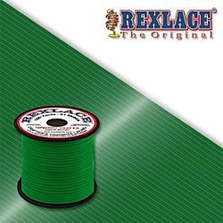 Pepperell Rexlace Plastic Craft 100 Yard Spool, 3/32-Inch Wide, Green