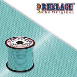 Pepperell Rexlace Plastic Craft 100 Yard Spool, 3/32-Inch Wide, Light Blue