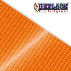 Pepperell Rexlace Plastic Craft 100 Yard Spool, 3/32-Inch Wide, Neon Orange