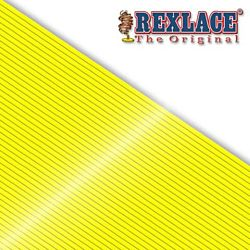 Pepperell Rexlace Plastic Craft 100 Yard Spool, 3/32-Inch Wide, Neon Yellow