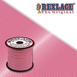 Pepperell Rexlace Plastic Craft 100 Yard Spool, 3/32-Inch Wide, Pink