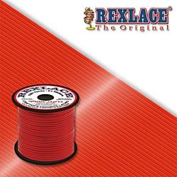 Pepperell Rexlace Plastic Craft 100 Yard Spool, 3/32-Inch Wide, Red