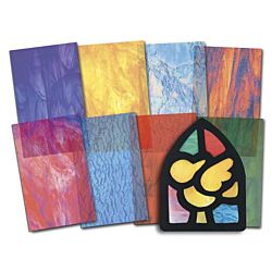 Stained Glass Paper, Roylco, R15257