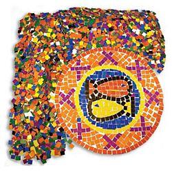Double Color Mosaic Squares Paper, Roylco, R15630