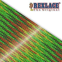 Pepperell Rexlace Britelace & Tie Dye Plastic Lacing Spool , Green