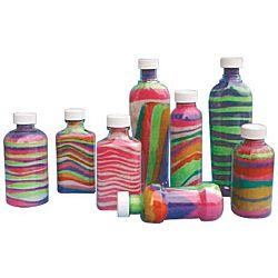 Sand Art Sand Layering Bottles Value Pack - 100/pk