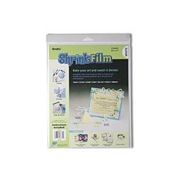 Graphix Shrink Film, 8.5x11, 6 Sheets