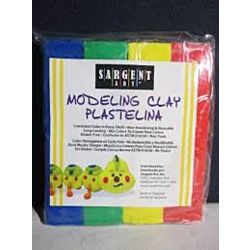 Sargent Art® Modeling Clay - 1 lb.  Primary Colors SAR224400