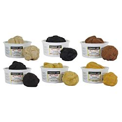 Sargent Art® Art-Time® 1 lb. Dough Multicultural Assortment Class Pack, Set of 6 -SAR853199