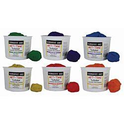 Sargent Art® Art-Time® 3 lb. Dough Assortment Class Pack, Set of 6 -SAR853399