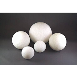 Gramco Styrofoam Balls Craft Supplies, 1-Inch, White, 12-Pack