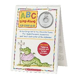 ABC Sing-Along Flip Chart & CD, ASH40006