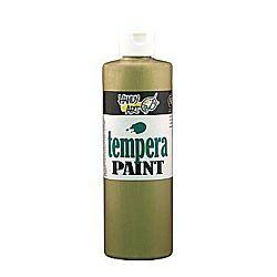 Handy Art 231-165 Tempera Paint, Metallic Bronze, 16-Ounce