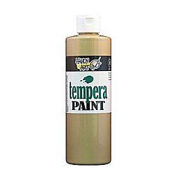 Handy Art 231-162 Tempera Paint, Metallic Gold, 16-Ounce