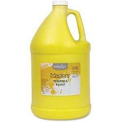 Handy Art 204710 Little Masters Tempera Paint Gallon Yellow