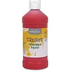 Handy Art 32 oz. Little Masters Tempera Paint Red