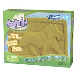 Shape It Sand Yellow, 5 Lb Box