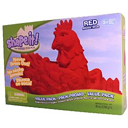 Shape It Sand Red, 5 Lb Box