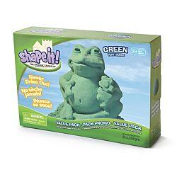 Shape It Sand Green, 5 Lb Box
