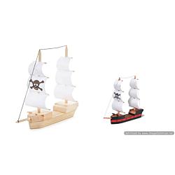 Darice Wood Model Kit - Pirate Ship (9181-32)