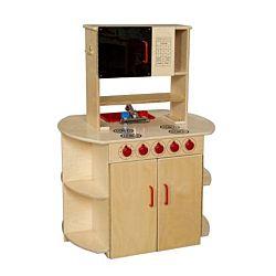 Wood Designs Children Play All-In-One Kitchen Center WD-10875