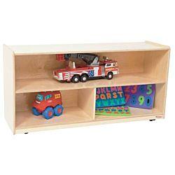Wood Designs Children Versatile Storage Unit Natural wood, 23.5